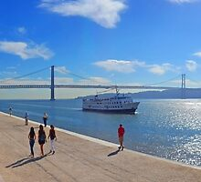 tejo river and architecture by terezadelpilar ~ art & architecture