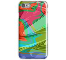 psychedelic hippy pattern iPhone Case/Skin
