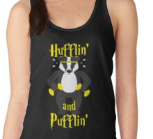 Hufflin' and Pufflin' Workout Women's Tank Top