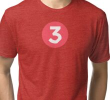 Chance The Rapper - Chance 3 Coloring Book Pink Tri-blend T-Shirt