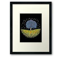 Starry Night Sky Framed Print