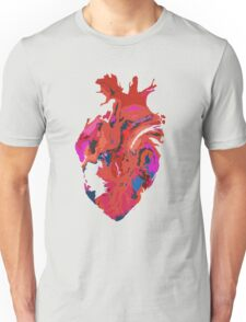 Warped heart Unisex T-Shirt
