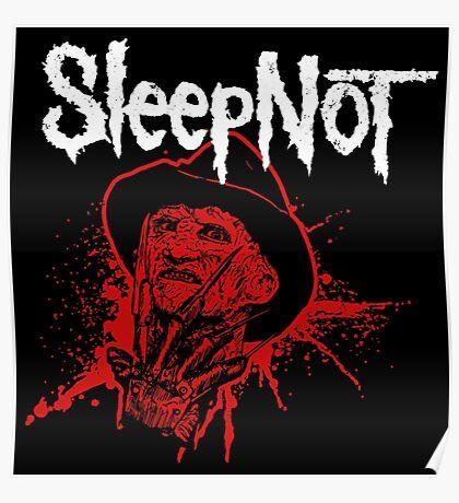 Sleep Not Poster