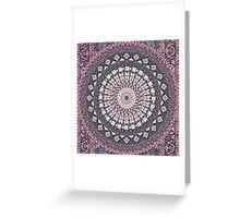 Om Mandala Lavender Greeting Card