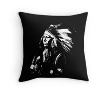 SHOUT AT (SIOUX) 2 Throw Pillow