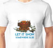 OWL: LET IT SHOW, SOMEWHERE ELSE Unisex T-Shirt