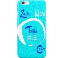 Zenku Water - Tastes Calm iPhone Case/Skin