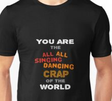 Fight Club Singing Dancing Crap of the World Unisex T-Shirt