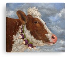Ida, Home from the Turnip Festival Canvas Print
