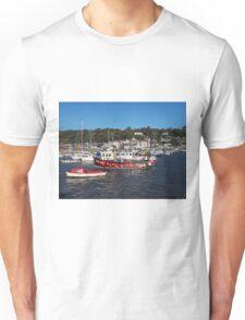 Lyme Regis Harbour - October Unisex T-Shirt