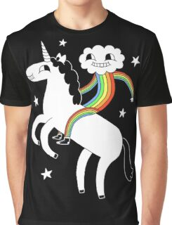Unicorn & Rainbow Boy Graphic T-Shirt