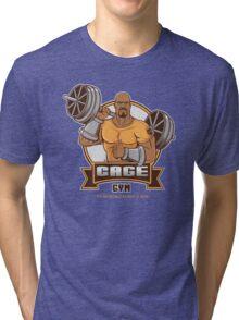 CAGE GYM Tri-blend T-Shirt