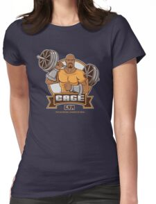 CAGE GYM Womens Fitted T-Shirt