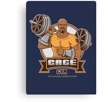 CAGE GYM Canvas Print