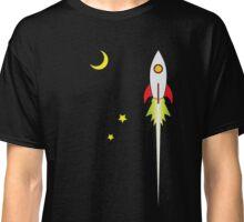 Ad Astra Retro Futurism  Classic T-Shirt