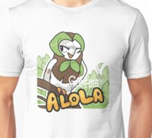 Greetings from Alola ft. Dartrix - Pokémon Sun and Moon Unisex T-Shirt