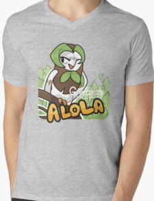 Greetings from Alola ft. Dartrix - Pokémon Sun and Moon Mens V-Neck T-Shirt