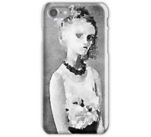 The dark side of the soul watercolor painting  iPhone Case/Skin