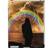 woman contemplating an end to life but sees hope iPad Case/Skin