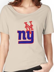 mets and giants Women's Relaxed Fit T-Shirt