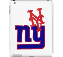 mets and giants iPad Case/Skin