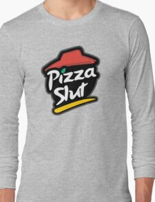 Pizza slut logo Long Sleeve T-Shirt