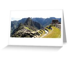 Machu Picchu - Peru - August 2014 Greeting Card