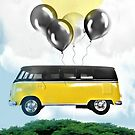 Flying Bus by RobynLee