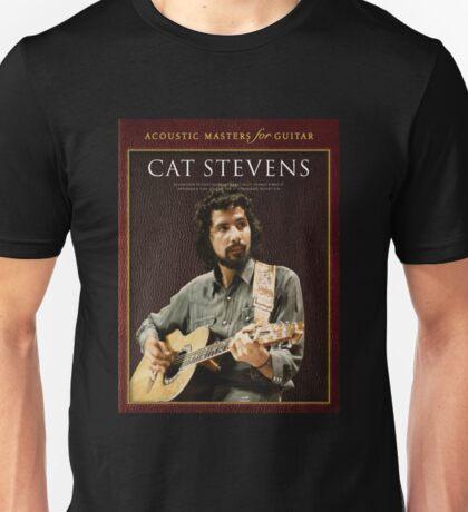 cat stevens-acoustic master for guitar 2016 Unisex T-Shirt