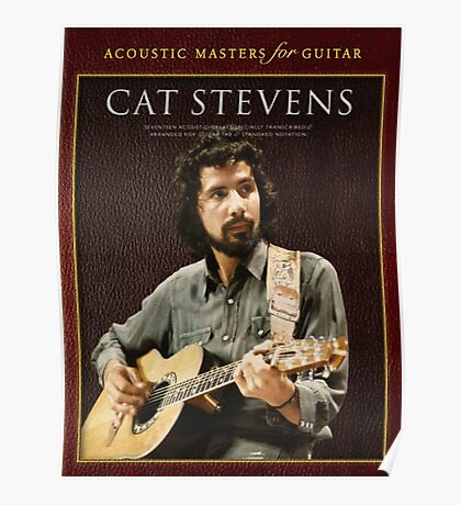 cat stevens-acoustic master for guitar 2016 Poster