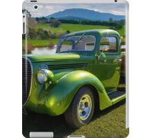 Ford Barrel Nose Pickup iPad Case/Skin