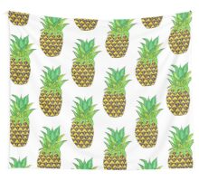 Perky Pineapple  Wall Tapestry