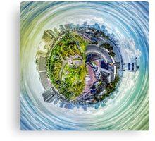 City Panorama HDR Canvas Print