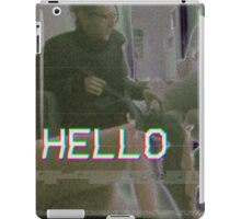 HELLO iPad Case/Skin