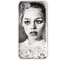 The Sad Look Of The Night iPhone Case/Skin