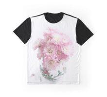 Pretty Pink Mums Still Life Graphic T-Shirt