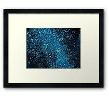 Blue Water Framed Print