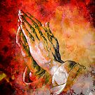 PRAYING HANDS by Tammera