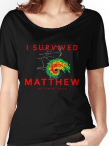I Survived Hurricane Matthew Women's Relaxed Fit T-Shirt