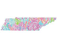 Tennessee Lilly Pulitzer Photographic Print