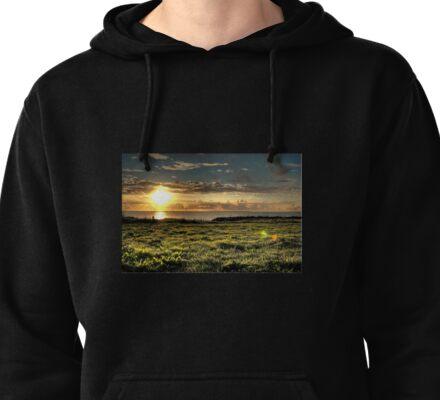 Sundown In Ireland Pullover Hoodie