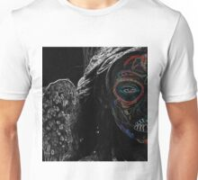 Colored Face Unisex T-Shirt
