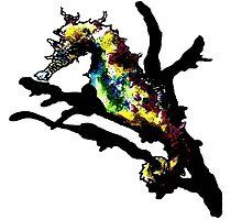 Seahorse piece. by AderynValentine