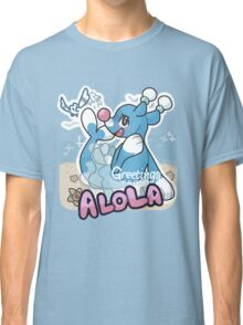 Greetings from Alola (ft. Brionne) - Pokémon Sun and Moon Classic T-Shirt