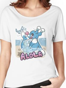 Greetings from Alola (ft. Brionne) - Pokémon Sun and Moon Women's Relaxed Fit T-Shirt
