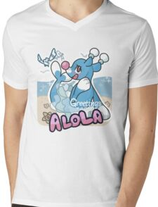 Greetings from Alola (ft. Brionne) - Pokémon Sun and Moon Mens V-Neck T-Shirt