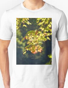 For everything there is a season, Ecc. 3:1 Unisex T-Shirt