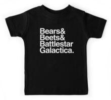 Bears, Beets, Battlestar Galactica Kids Tee
