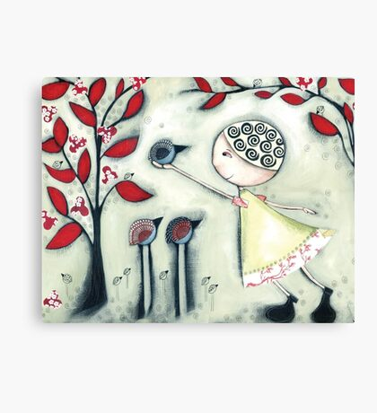 The delicate balance of nature Canvas Print