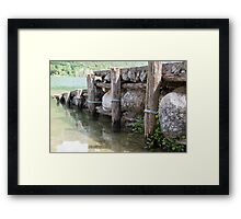 lake scape Framed Print